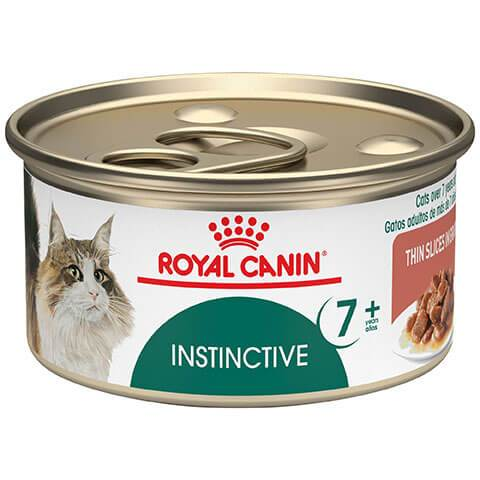 Royal Canin Feline Health Nutrition Instinctive 7+ Canned Cat Food, 3 oz - 24 Cans/Case