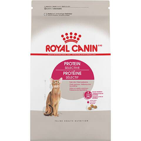 Royal Canin Feline Health Nutrition Protein Selective Dry Cat Food, 3 lb Bag