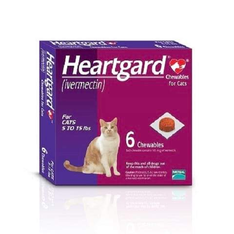 RX - Heartgard Chewables for Cats 5-15 lbs
