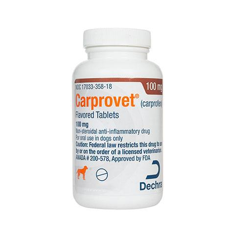 Carprovet ® (carprofen) 100mg for Dogs 30  Flavored Tablets
