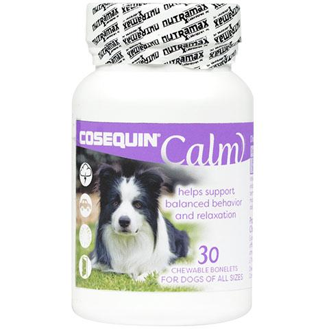 Nutramax Cosequin Calm Chewable Tablets Dog Supplement, 30 count