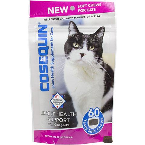 Nutramax Cosequin Joint Health Soft Chews Cat Supplement, 60 count