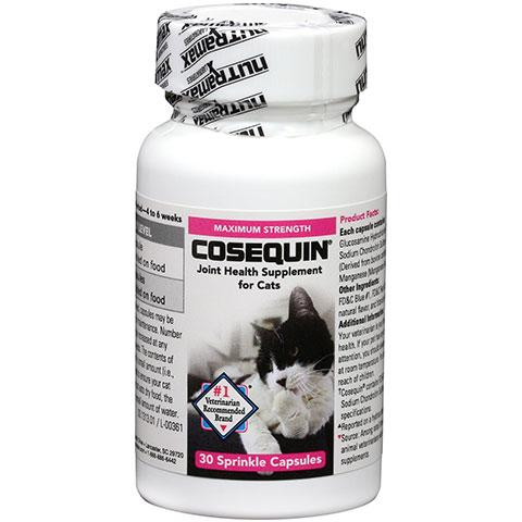 Nutramax Cosequin Original Joint Health Sprinkle Capsules Cat Supplement, 30 count