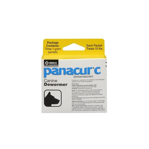 RX - Panacur C Canine Dewormer, 1 gm