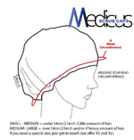 Hospital Text Book Scrub Cap - Medicus Scrub Caps