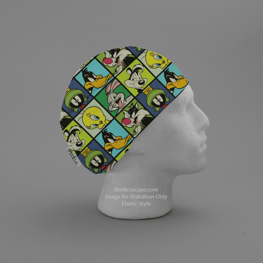 Looney Tunes #3 Cartoon Scrub Cap - Medicus Scrub Caps