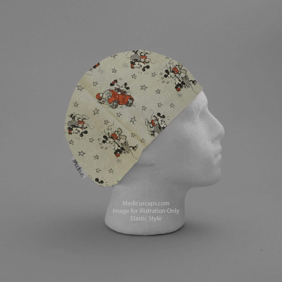 Mickey and Mini Adventure Scrub Cap - Medicus Scrub Caps