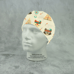 Native Indian Animals Scrub Cap - Medicus Scrub Caps