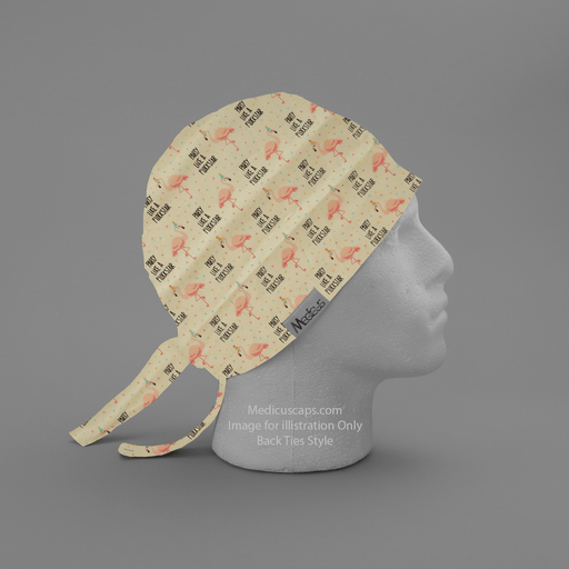 Pun-tastic: Party Like A Flock Star Scrub Cap - Medicus Scrub Caps