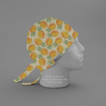 Tropical Pineapples Scrub Cap - Medicus Scrub Caps
