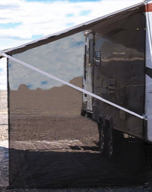 RV Awning Shade - Side