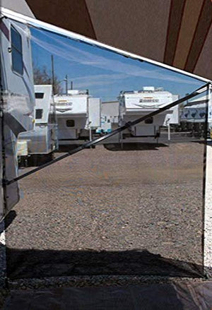 Tentproinc RV Awning Side Sun Shade - Screen Sunshade Complete Kits - All Colors Choose