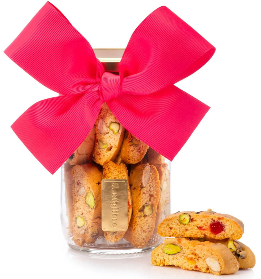 Jar of Fun - Almond and Pistachio Biscotti
