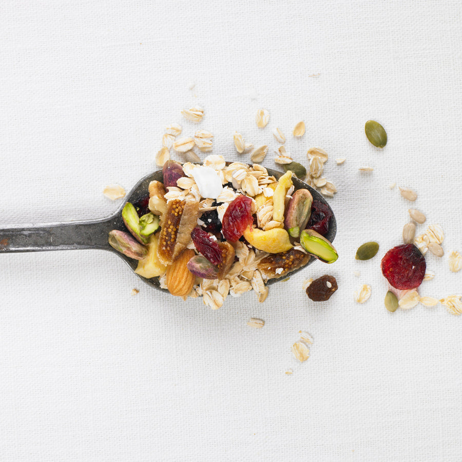 500g Pistachio, Cranberry & Fig Muesli