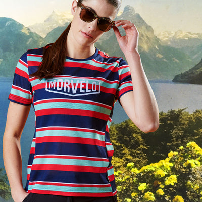Womens Lines SS Mtb Jersey