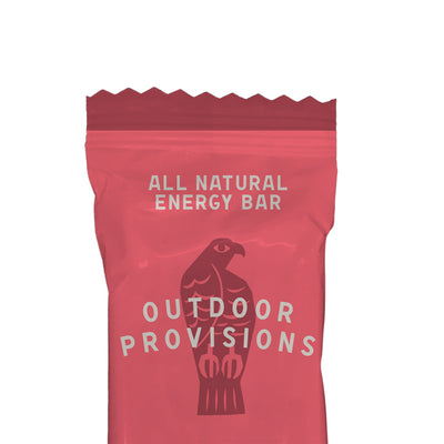Outdoor Provisions All-Natural Energy Bar - Cherry Bakewell