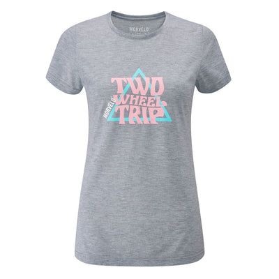 Womens Burnout SS Tech Tee