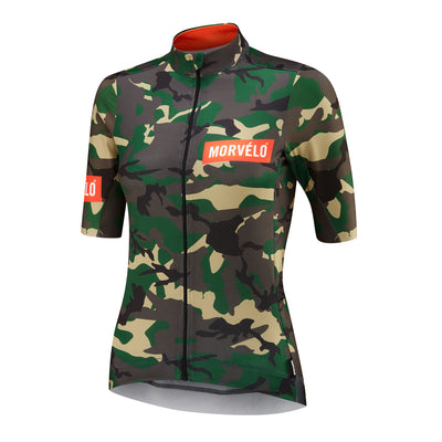 Womens Camo Nth Series SS Jersey