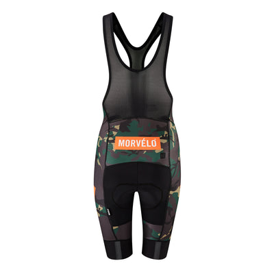 Womens Camo Nth Series Bib Shorts