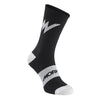 Series Emblem Black Socks - One Size
