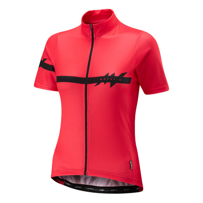 Womens Kuler Red Standard Jersey
