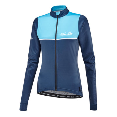 Womens Kuler Blue Thermoactive Jersey