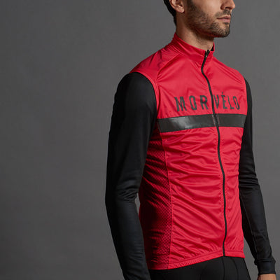 Kuler Red Hurricane Gilet