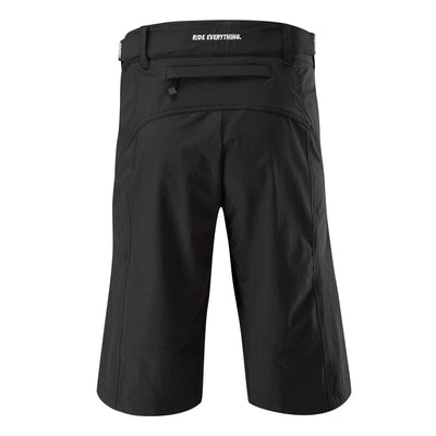 Womens Black Rise And Descend Mtb Shorts