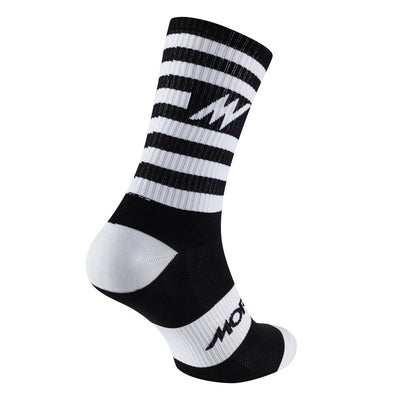 Series Stripe Black Socks