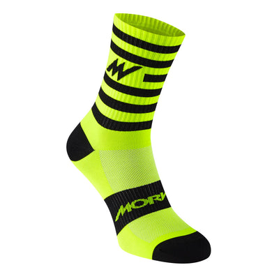 Series Stripe Fluro Yellow Socks
