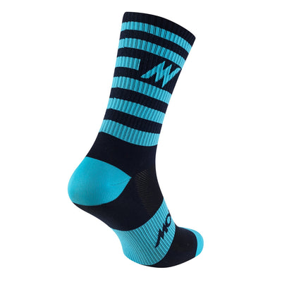 Series Stripe Navy Socks