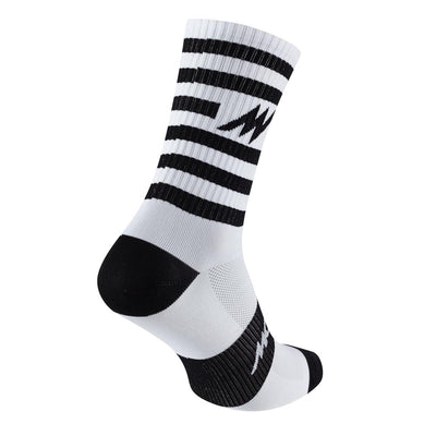 Series Stripe White Socks