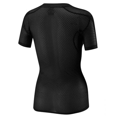 Womens Definitive Black SS Baselayer