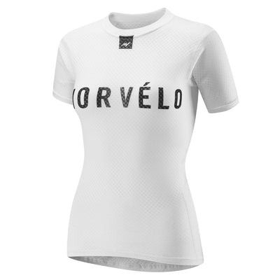 Womens Definitive White SS Baselayer