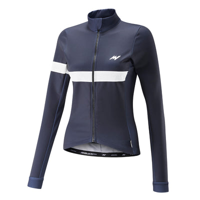 Womens Navy Windproof Thermoactive Jersey