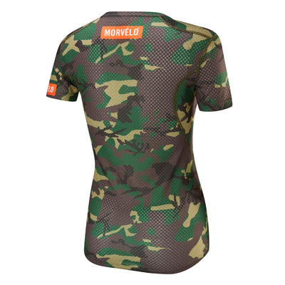 Womens Camo SS Baselayer