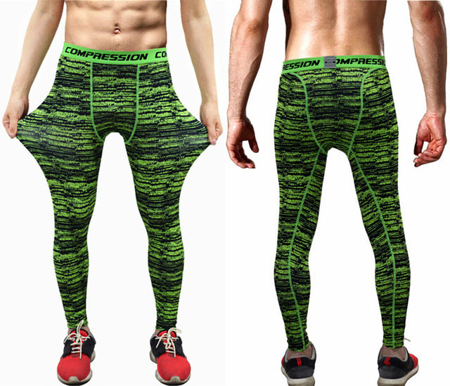 Camouflage Fitness Tights - The Fit Hub
