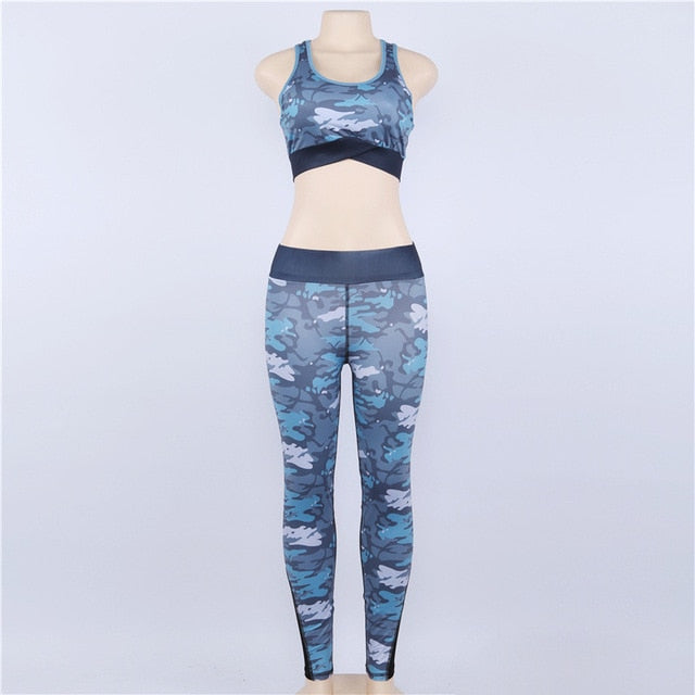Camouflage Mesh Fitness  Suits - The Fit Hub