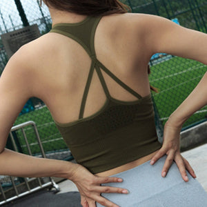 Seamless Crop Vest - The Fit Hub