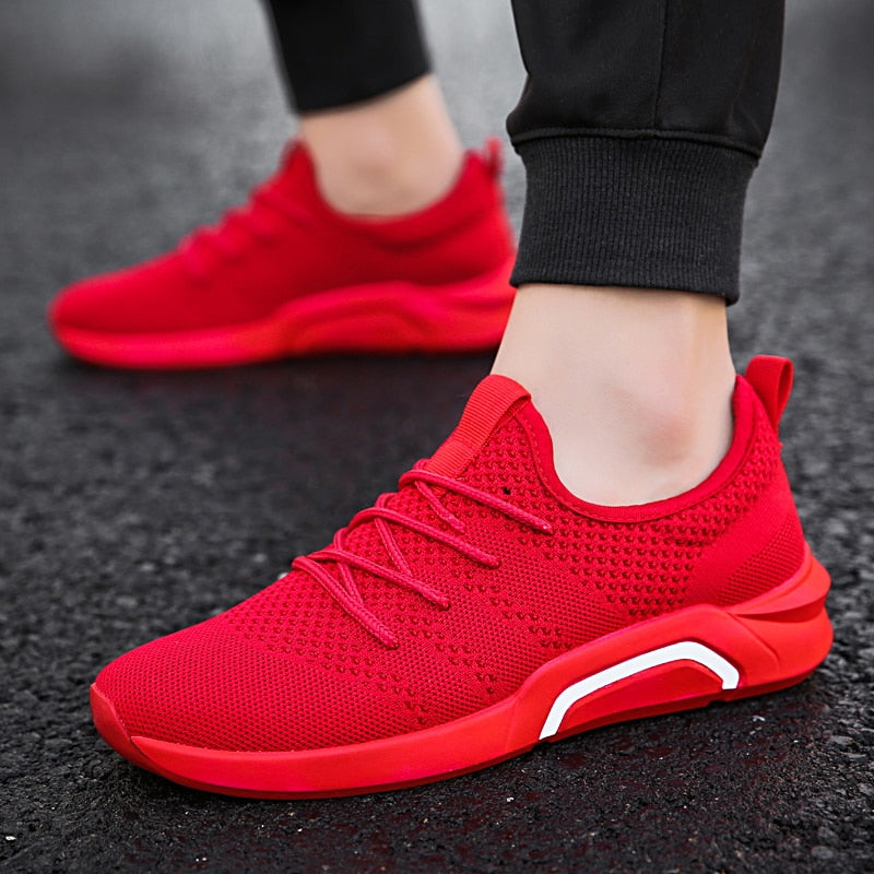 Breathable Mesh Sport Shoes - The Fit Hub