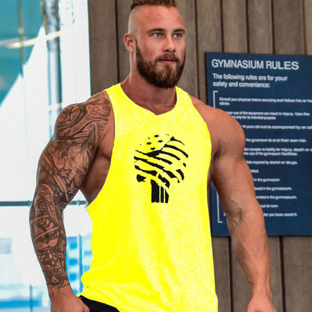 Cotton Sleeveless Tank Top - The Fit Hub