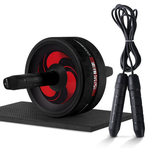 2 in 1 Ab Roller&Jump Rope - The Fit Hub