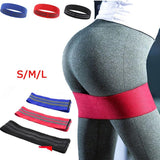 Anti Slip Cotton Hip Resistance Bands - The Fit Hub
