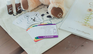 Affirmation Card Game helps kids build positive emotional habits while learning about essential oils