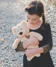 Load image into Gallery viewer, Cuddles Teddy Bear Stuffed Animal - Unique Kids Toy Gift with Natural Essential Oil Diffuser Pads