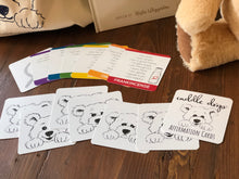 Load image into Gallery viewer, Affirmation Card Game helps kids build positive emotional habits while learning about essential oils