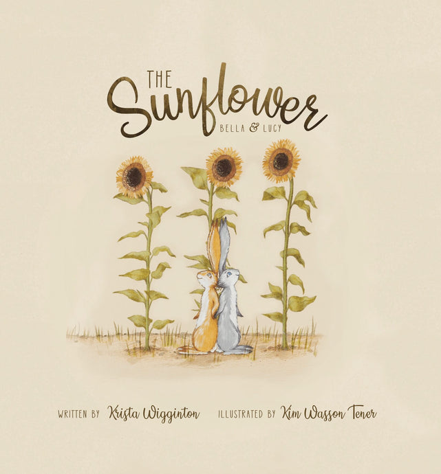 The Sunflower is an essential oil book for kids written by Krista Wigginton