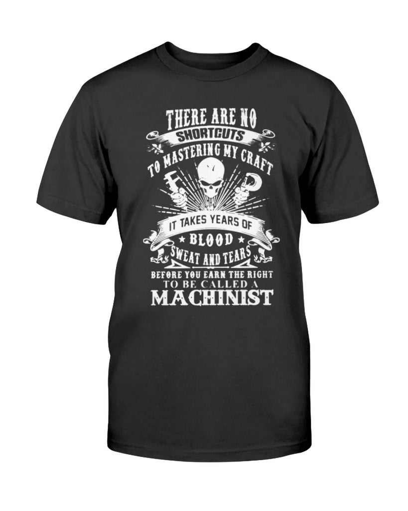 Machinist Blood Sweat Tears Shirt