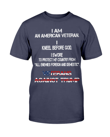 Christian American Veteran Against Trump God Pray