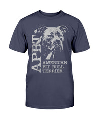 American Pit Bull Terrier - APBT - Unisex Tees with Dogs Bull Shirt